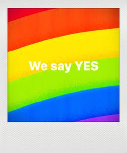 """WE SAY YES"""