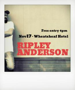 Ripley Anderson Album Launch
