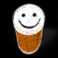 Good Beer Wheaty 2013 smiley pint
